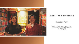 Meet The Pro in collaboration with MY Wedding Planner - Part 1