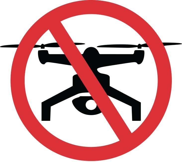 No-fly zone drones ireland drone airspace
