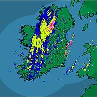 Irish Rainfall Radar