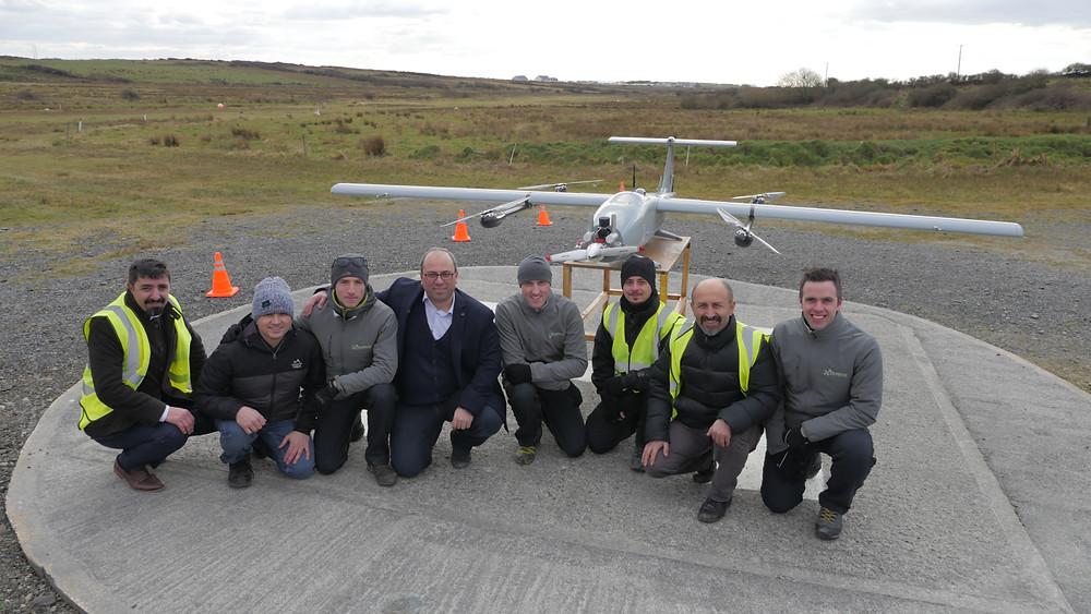 Ireland's largest drone flight A-techsyn Irish Aviation Authority