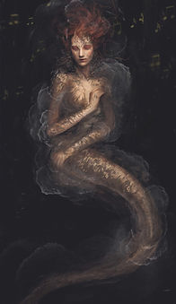 Artbreeder x Xander Smith Design Character Concept Art Costume Design Little Mermaid Painting
