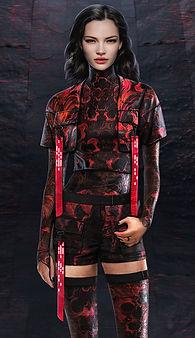 Artbreeder x Xander Smith Design Character Concept Art Costume Design Fashion Illustration