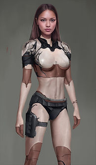 Artbreeder x Xander Smith Design Character Concept Art Costume Design Sci-Fi Future