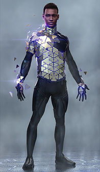 Artbreeder x Xander Smith Design Character Concept Art Costume Design Super Hero