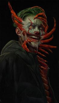 Xander Smith Design Character Concept Art Costume Design Clowntipede Horror Joker It