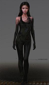 Artbreeder x Xander Smith Design Character Concept Art Costume Design Fashion