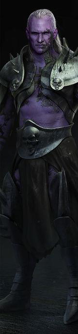 Artbreeder Xander Smith Design Concept Art AI GAN Design Lich King World of Warcraft