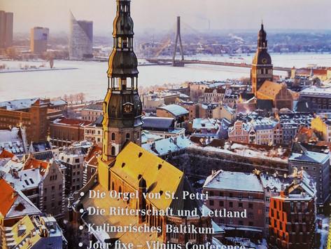Drei Kilo Geschichte der Ritterschaften  in Lettland