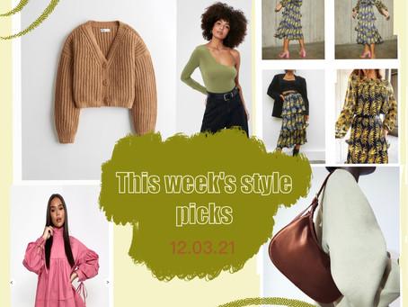 This week's style picks - 12.03.21