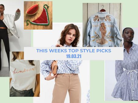 This week's style picks - 19.03.21