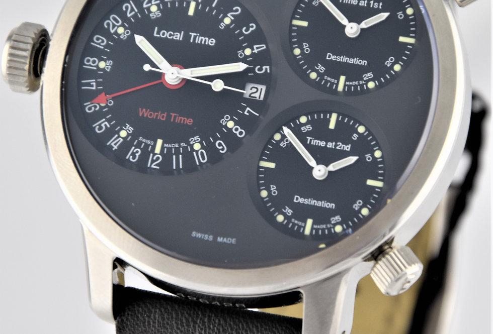 Glycine Airman 7 Crosswise Automatic