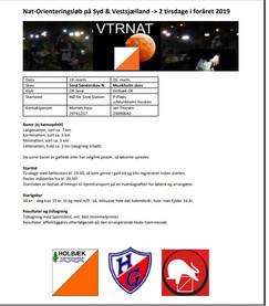 VTRnat - to løb i marts