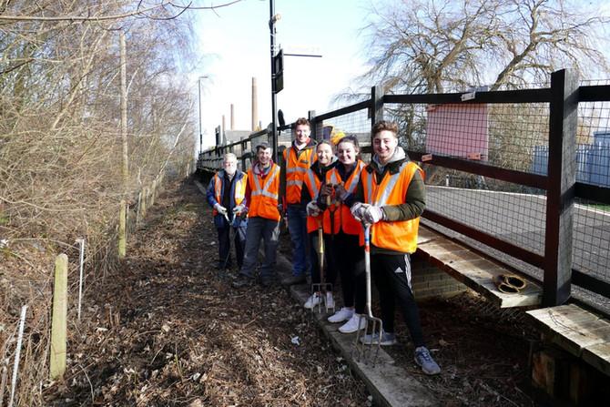 Stewartby Train Station Adoption Team