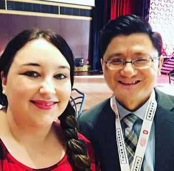 Cara and Dr Kui Xie