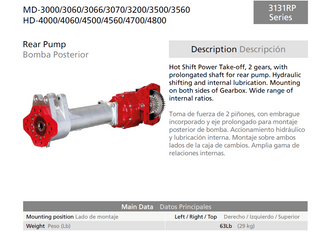 GFR Industries and Bezares release the New 3131rp Series into Australia for the Allison Transmission