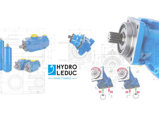 Hydro Leduc Hydraulic Piston Pumps , Motors and accumulators .