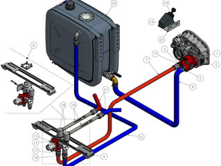 TRUCK HYDRAULIC SOLUTIONS and TRANSPORT HYDRAULIC SOLUTIONS by GFR INDUSTRIES .