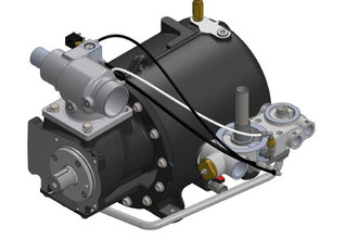 VMC Pack Smart Compressors . GFR Industries has available the new low profile V110C Series unit .