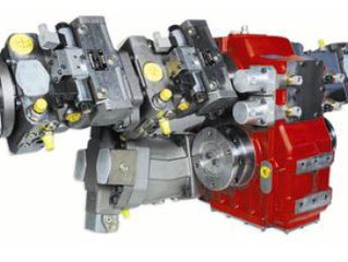 GFR Industries Hydro Static Driven Truck Drives and Blower Systems by OMSI and GFR Industries .
