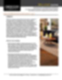 Bellagio UV Polyurethane Care and Maintenance - Oregon Lumber Company