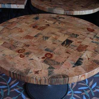 RESTAURANT TABLE AT SPRUCE PEAK