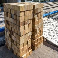 Harvard End Grain Block Stacks