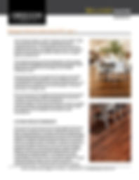 Bellagio Warranty - Oregon Lumber Company