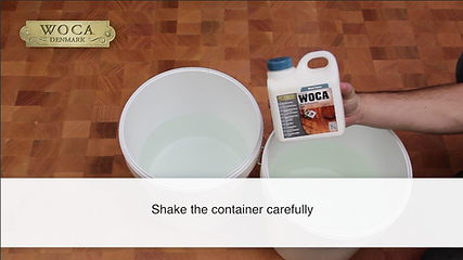 How To Apply WOCA End Grain Oil Refresher Manually