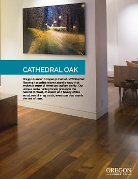 Cathedral Oak Brochure - Oregon Lumber Company