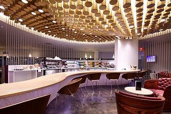 Virgin Atlantic Clubhouse - Oregon Lumber Company Installation