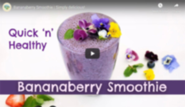 Bananaberry Smoothie Simply delicious -