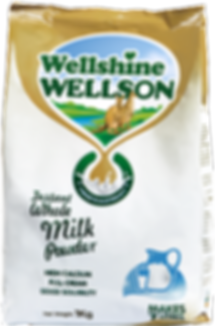 Wellshine Wellson Full Cream Whole Milk Powder, 1kg makes 7 litres