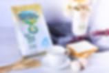 instant milk powder, tea cup, eggs breakfast table | Wellshine Wellson
