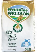 WellshineWELLSON instant whole milk powder. Best milk full cream of dairy Australia