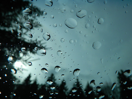 The Sound that a Raindrop Makes.