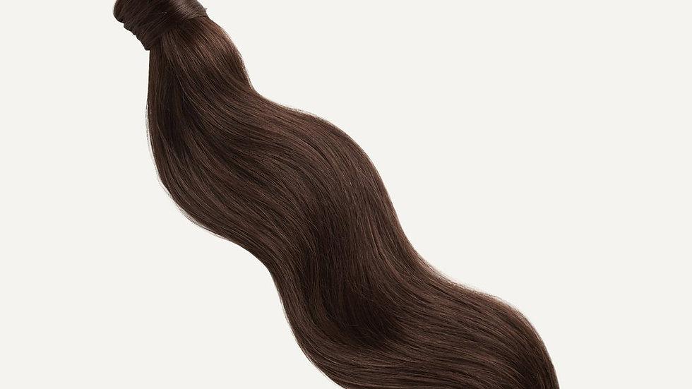 Ponytail kleur 4 Donker bruin