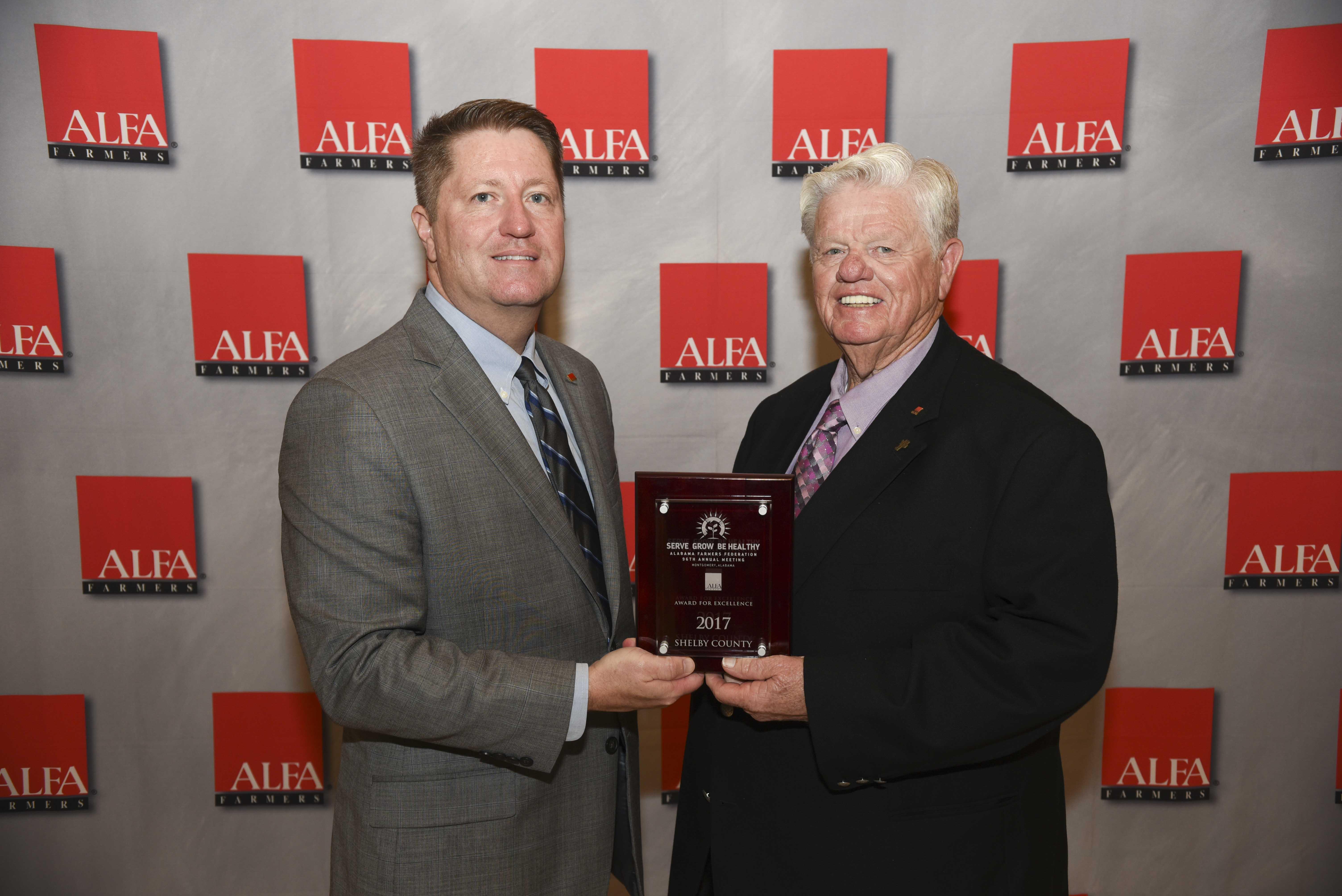 SHELBY - County Award