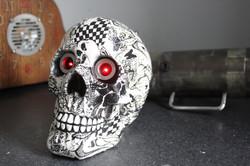 Skull Red Vision