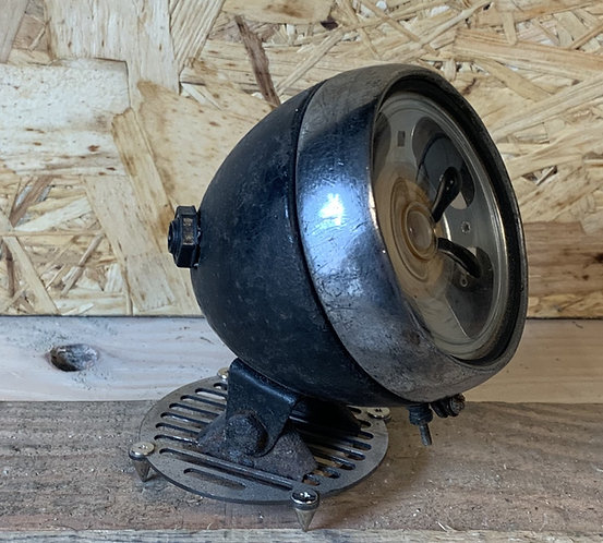 Vintage Bicycle Headlamp (Blueberry)