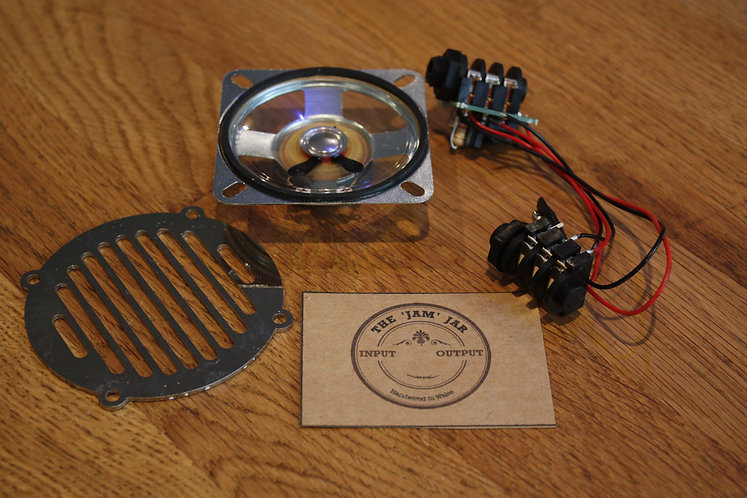 Amp Kit - Prebuilt WITH SPEAKER & GRILL