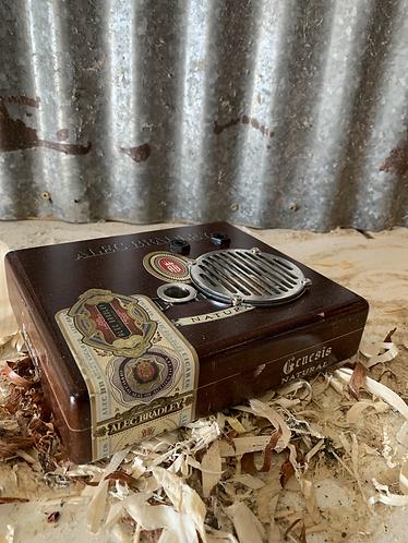 Cigar box amp (Blueberry)