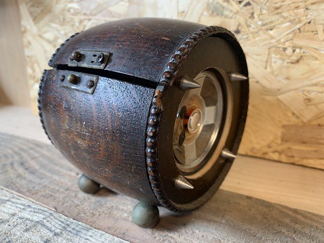 Wooden Vintage Barrel (Original)