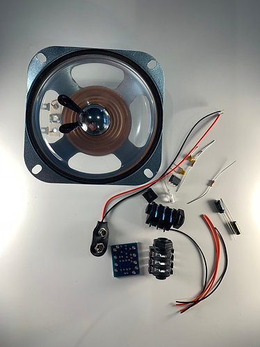 "Blueberry basic kit with 4"" speaker"