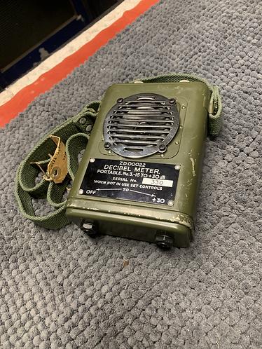 1977 Military Decibel meter Blueberry