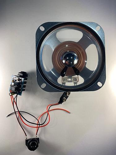 """Blueberry pre built kit with 4"""" speaker"""