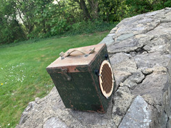 Steel valve case