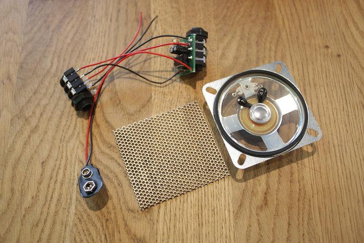 Amp Kit - Prebuilt Kit WITH SPEAKER & Mesh