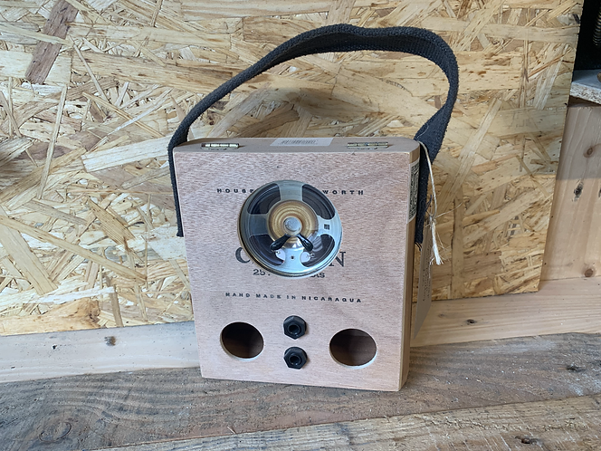Carry Cigar box amp (Blueberry)