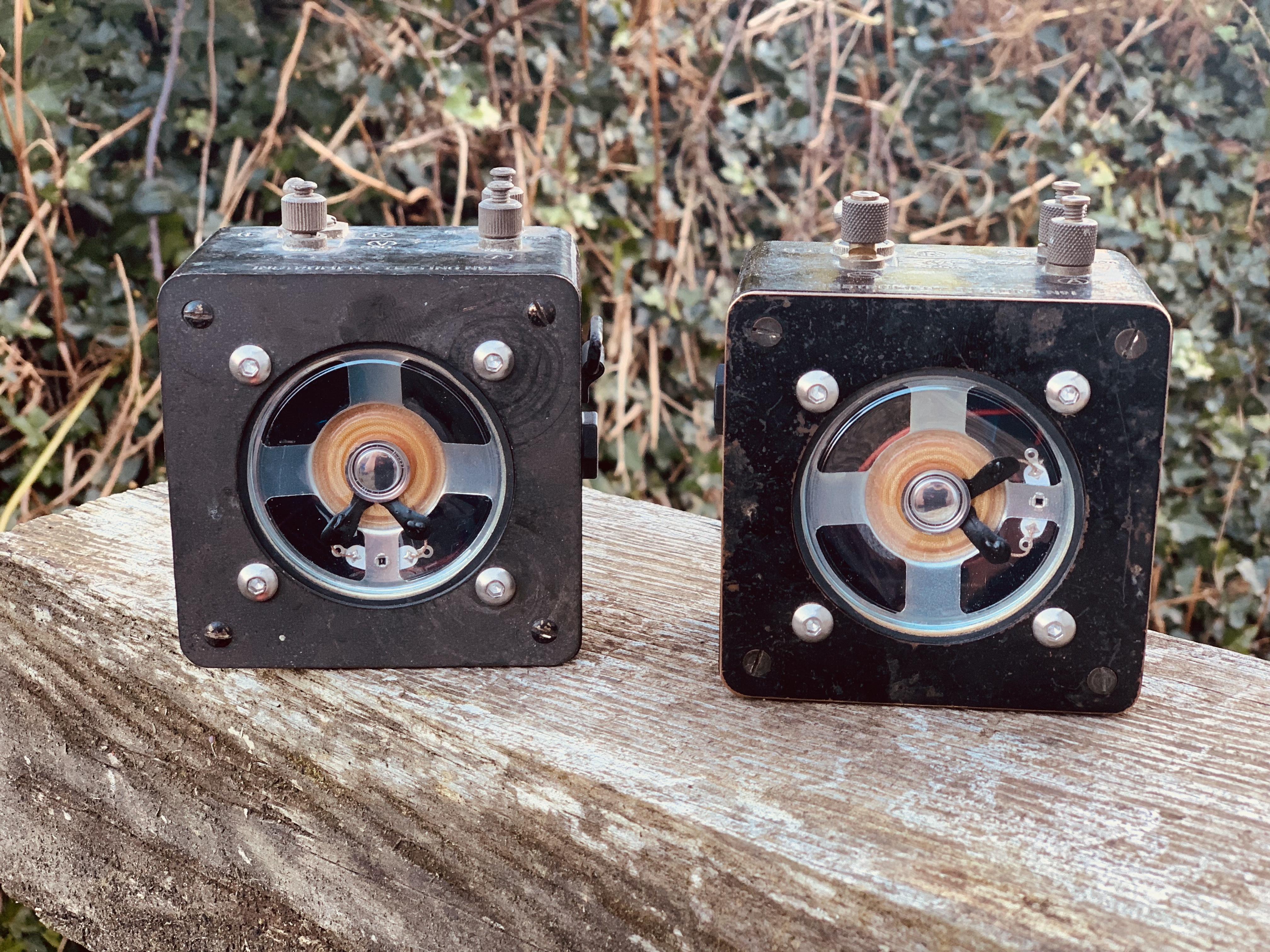 Vintage OHM's meter