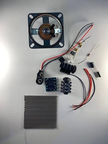 """Blueberry basic kit with 2.5"""" speaker & Mesh Grill"""